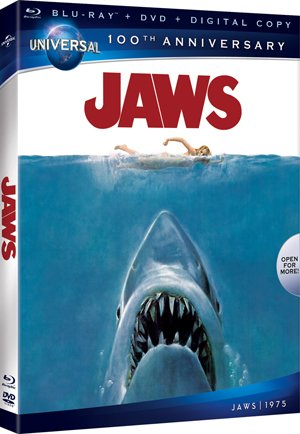 Jaws Blu-ray Box Art