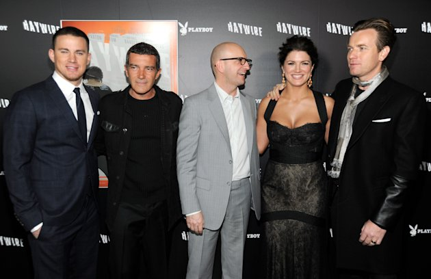 "Relativity Media's ""Haywire"" Premiere Co-Hosted By Playboy - Red Carpet"