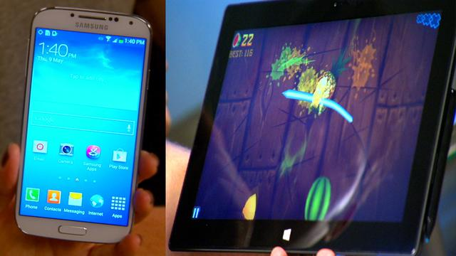Galaxy S4 unboxed, Surface Pro road tested