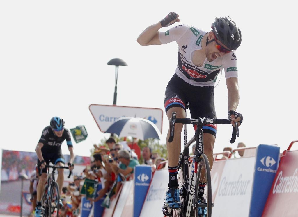 Dumoulin pips Froome to Vuelta stage nine, takes overall lead