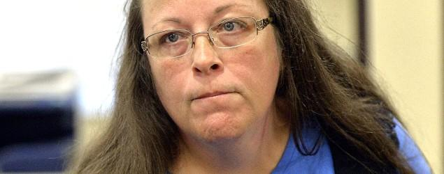 Kentucky clerk ordered to jail over marriage stance