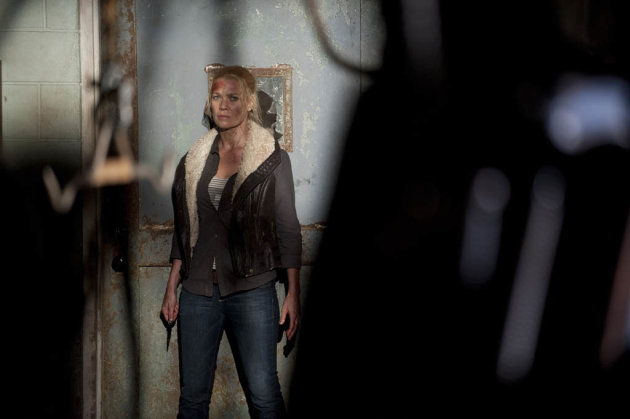 Andrea (Laurie Holden) in &quot;The Walking Dead&quot; episode, &quot;Prey.&quot;