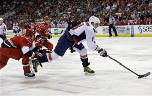 Ovechkin leads Capitals past Hurricanes 5-3