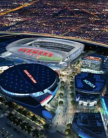 Sources: Downtown Los Angeles Stadium proposal in trouble because of AEG's terms to NFL