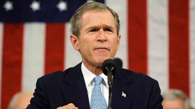 "President George W. Bush introduced the ""axis of evil"" in his 2002 State of the Union address — a major turning point for GOP foreign policy."
