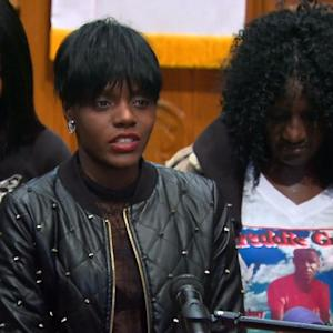 Freddie Gray's Family Calls For End To Violence In Baltimore
