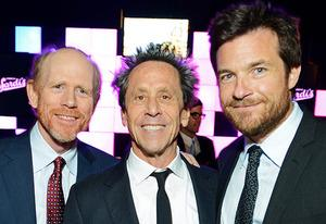 Ron Howard, Brian Grazer, Jason Bateman | Photo Credits: Jordan Strauss/AP Images