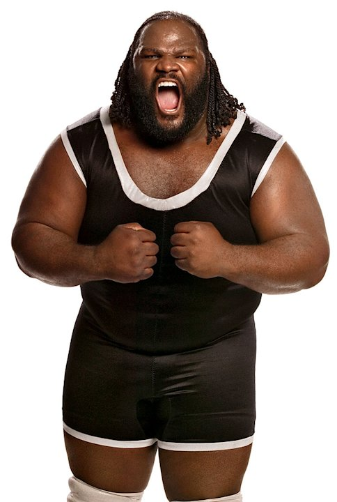 WWE Smackdown superstar Mark Henry from the CW's Friday Night Smackdown! 