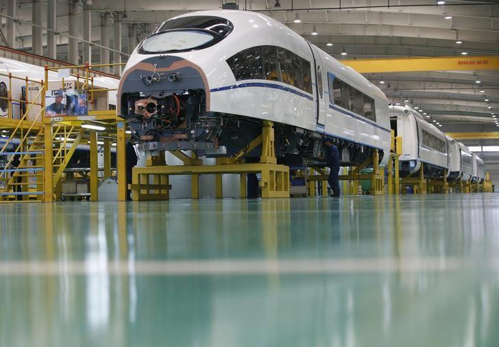 China August official factory PMI seen shrinking to three-year low