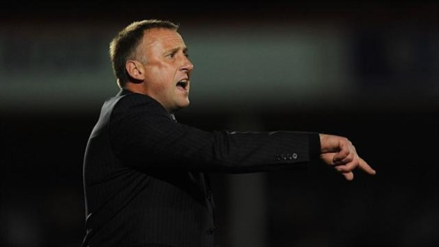 Mark Yates felt his side were unfairly treated by the officials