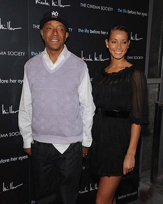 Russell Simmons and guest at the New York premiere of Magnolia Pictures' The Life Before Her Eyes