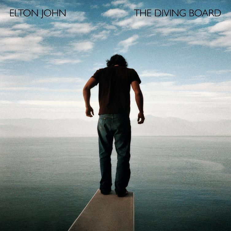 "This CD cover image released by Capitol Records shows ""The Diving Board,"" by Elton John. (AP Photo/Capitol Records)"