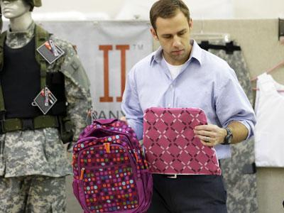 After Newtown, Sales Rise for Armored Backpacks