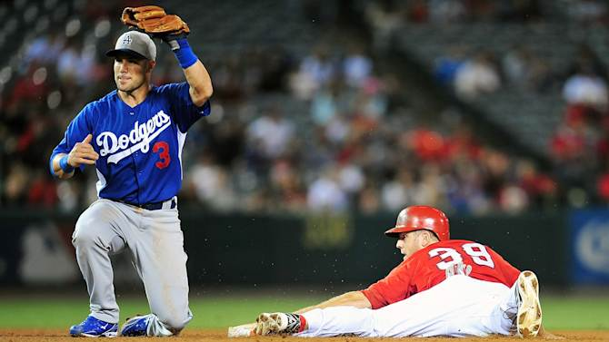 MLB: Spring Training-Los Angeles Dodgers at Los Angeles Angels