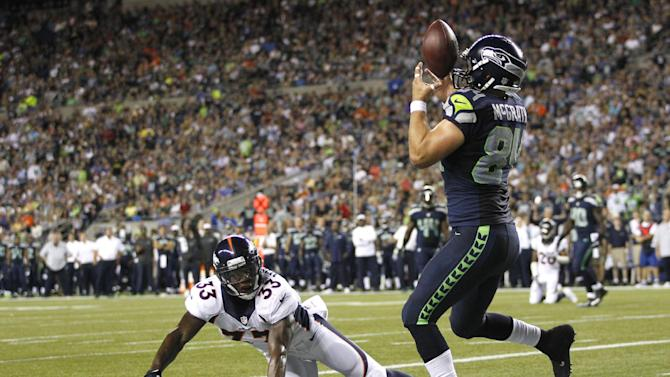 Seattle's big plays lead to 40-10 rout of Denver