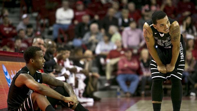 Portis leads Arkansas to 89-48 win over High Point