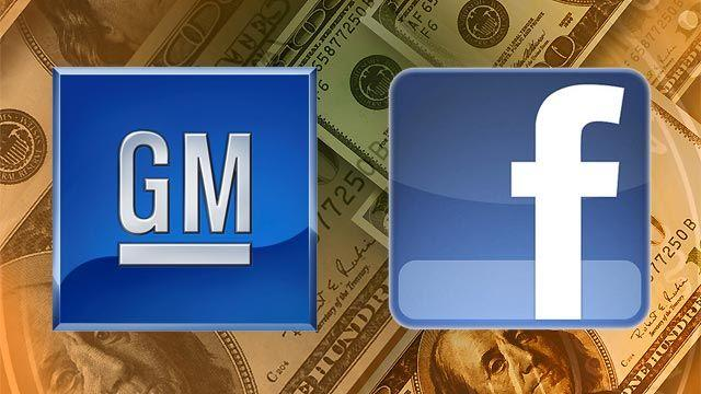 General Motors Pulls Ads From Facebook