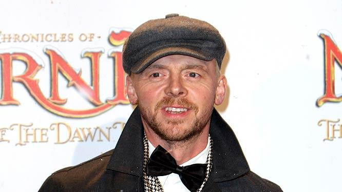 Simon Pegg Chronicles Narnia