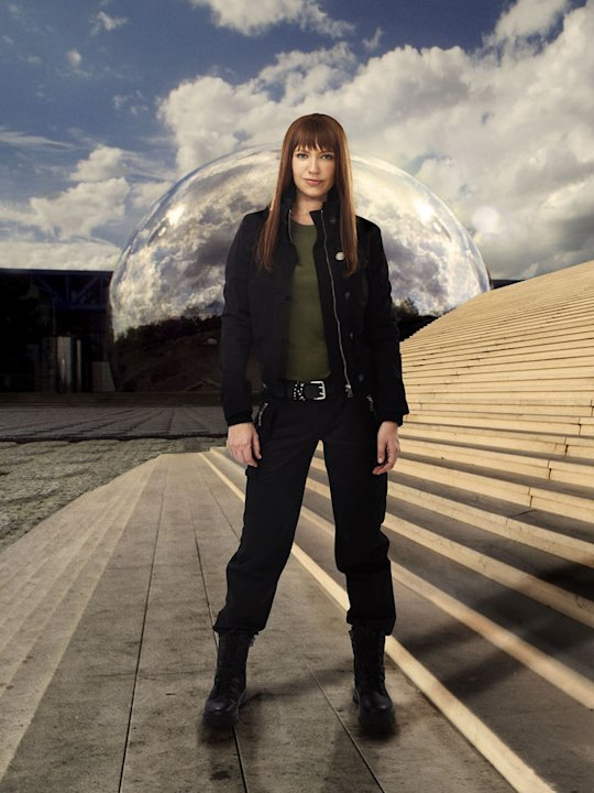 "Anna Torv stars as the Alternate Agent Olivia Dunham in ""Fringe."""