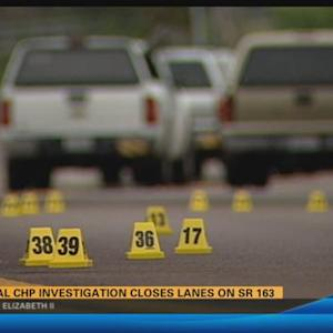 Special CHP investigation closes lanes on SR-163