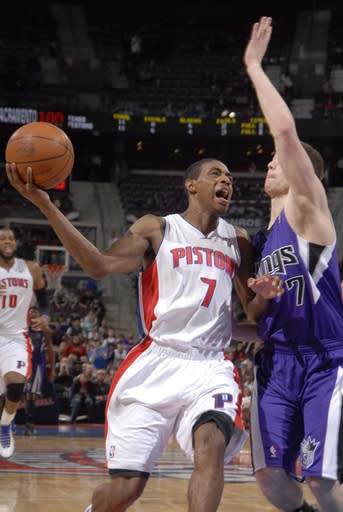 Stuckey gets 36, leads Pistons past Kings 114-108