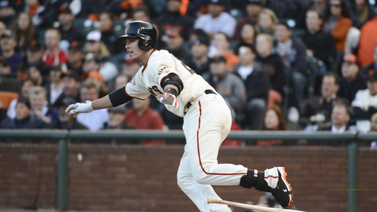 MLB: Atlanta Braves at San Francisco Giants