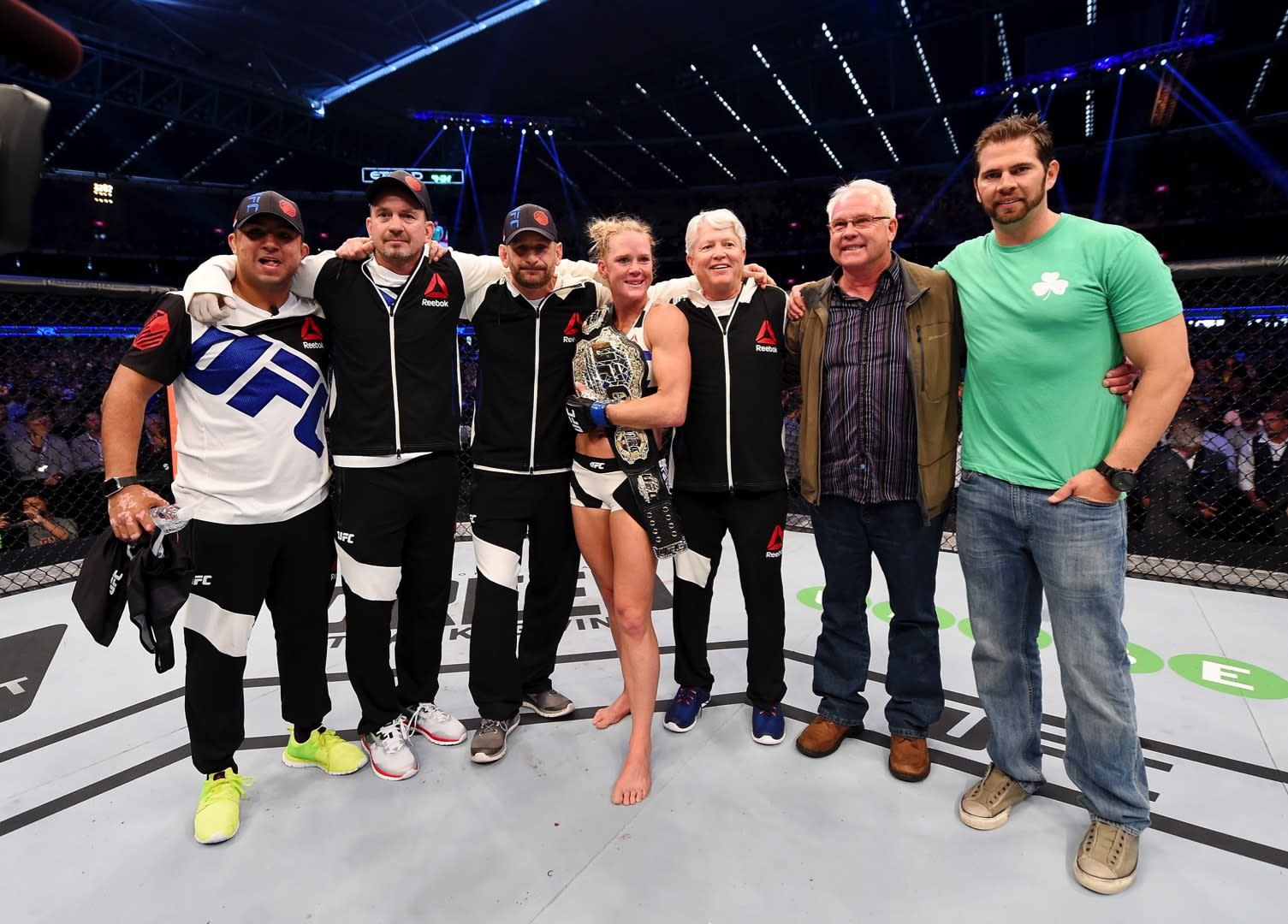 How Holly Holm's upset win over Ronda Rousey has affected her teammates