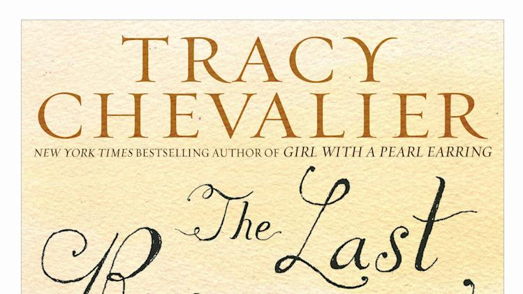 "This book cover image released by Dutton shows ""The Last Runaway,"" by Tracy Chevalier. (AP Photo/Dutton)"