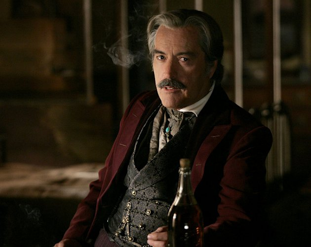 Powers Boothe stars in Deadwood on HBO.