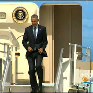 President Obama Stops Into South Florida