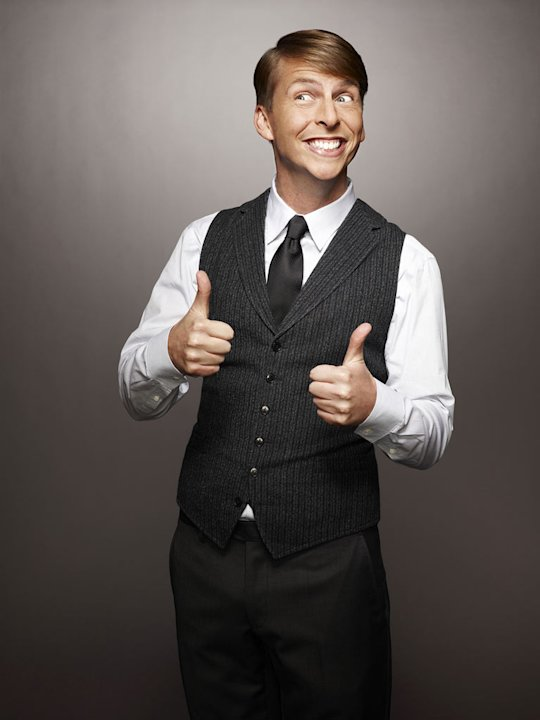 "Jack McBrayer stars as Kenneth Parcell in ""30 Rock."""