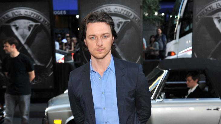 X Men First Class NYC Premiere 2011 James McAvoy