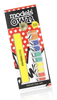 NEW! WAH Nails and Models Own POW nail wraps