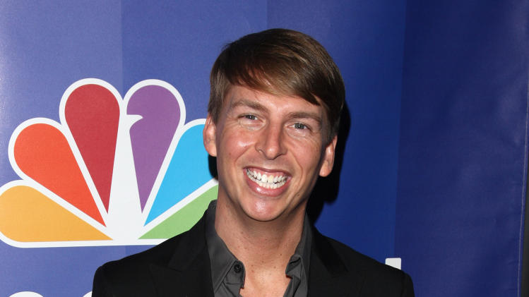 "FILE - In this May 17, 2010 file photo, actor Jack McBrayer attends the NBC Universal's Upfront presentation in New York. McBrayer stars in the animated film, ""Wreck-It-Ralph,"" which opened on Nov. 2, 2012,   (AP Photo/Peter Kramer, File)"