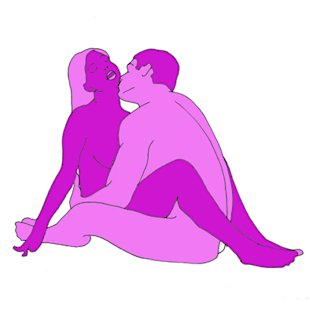 Sex position of the day: Position of virgins