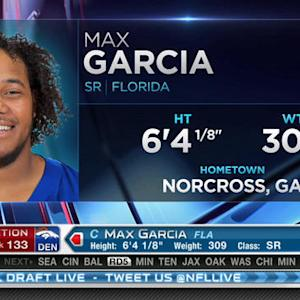 Denver Broncos pick center Max Garcia No. 133 in 2015 NFL Draft