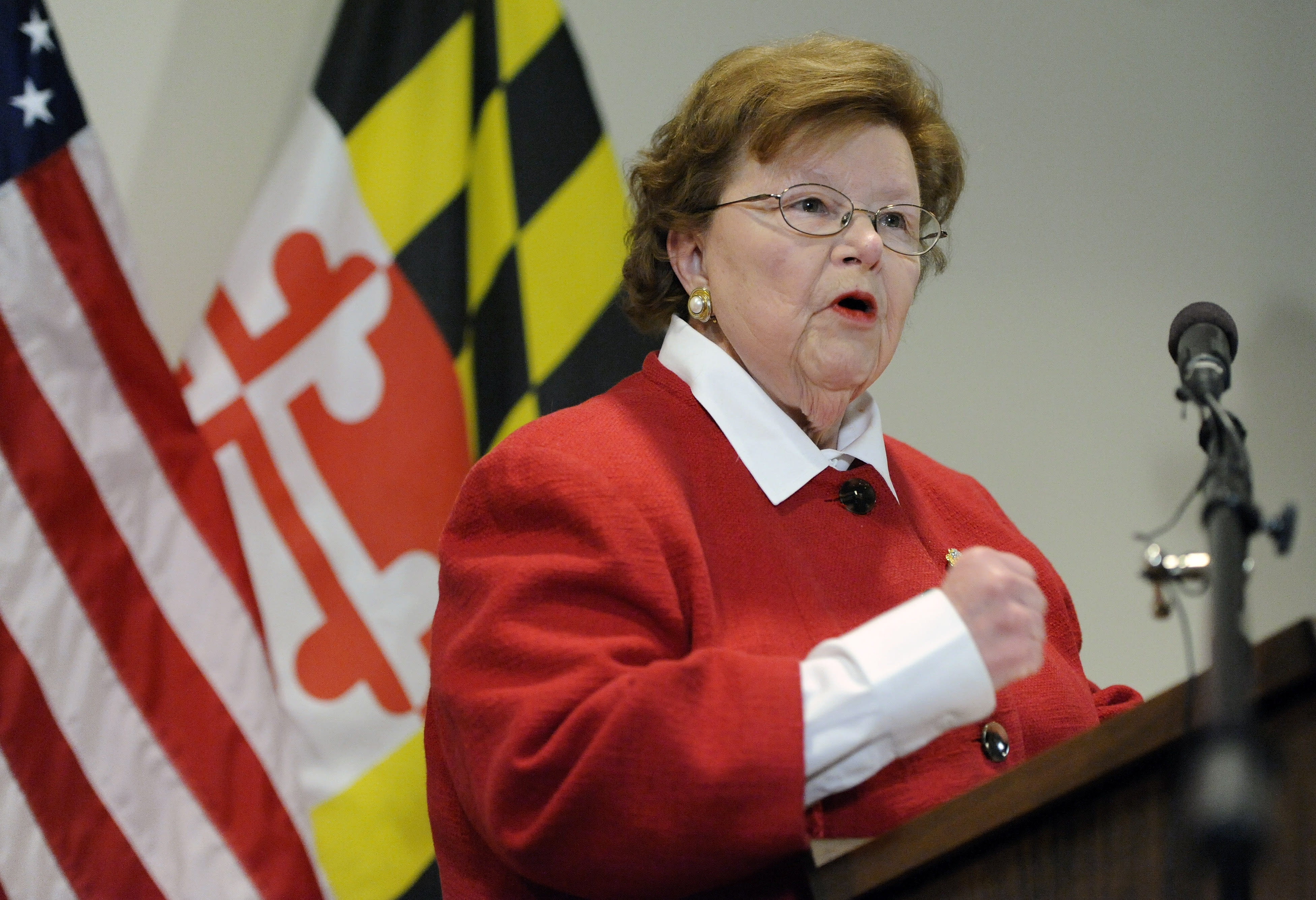 U.S. Senator Barbara Mikulski announces her retirement