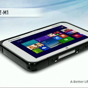 Panasonic shows 7-inch rugged tablet