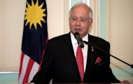 Malaysian Prime Minister Najib Razak, seen here in April, must call elections by next year against a formidable opposition that gets most of its message out via the Internet due to a government stranglehold on traditional media