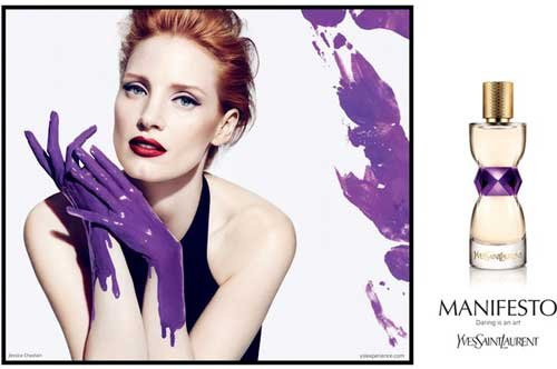 EXCLUSIVE: Watch Jessica Chastain in Her Racy New Television Campaign for YSL Manifesto