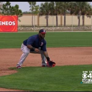 Red Sox Take Field For First Workout As Team