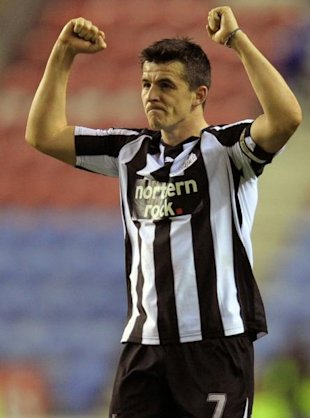 Photo 1 - Newcastle United's English Midfielder Joey Barton Celebrates AFP/Getty Images