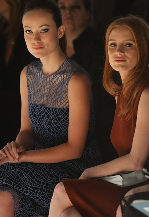 Olivia Wilde, Jessica Chastain