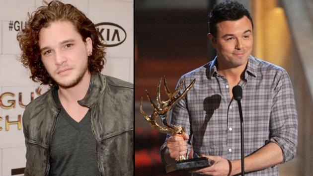Kit Harington, Seth MacFarlane -- Getty Images