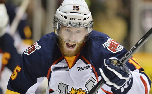 OHL: Barrie Colts' Anthony Camara Snipes Game 3 OT Winner - Post-game Questions