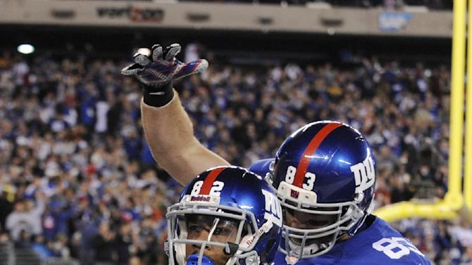 Giants get 1st win, beat sloppy Vikings 23-7