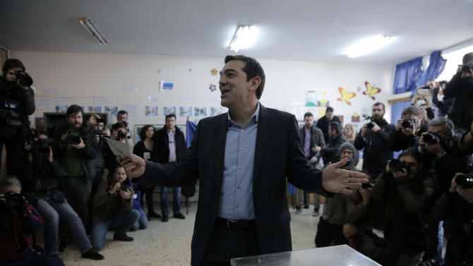 Greece exit poll shows anti-bailout party winning election