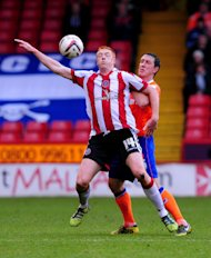 Dave Kitson, left, has been struggling with a hamstring injury