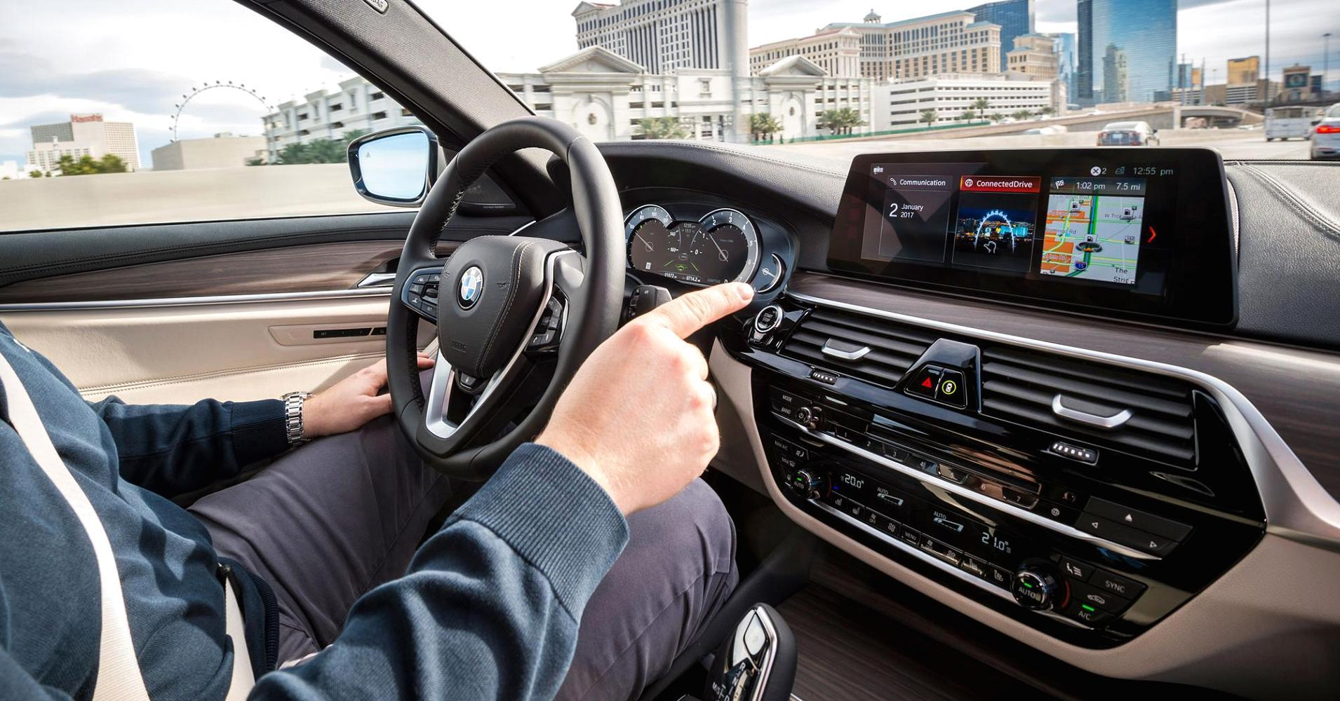 CNBC got a chance to take BMW's new self-driving car out for a spin. Here's what it was like