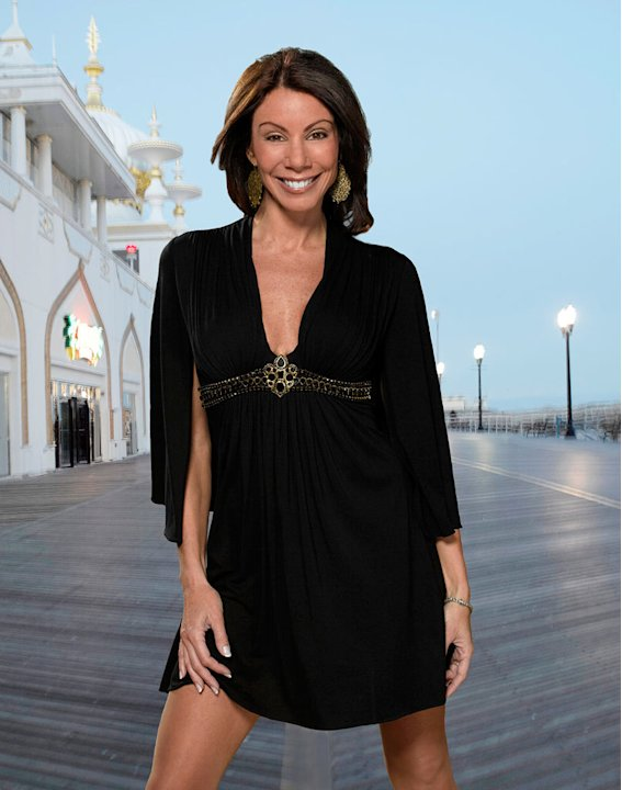 "Danielle Staub of ""The Real Housewives of New Jersey."""